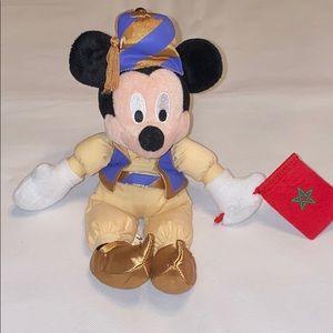 """Mickey Mouse Morocco plush decor 10"""""""